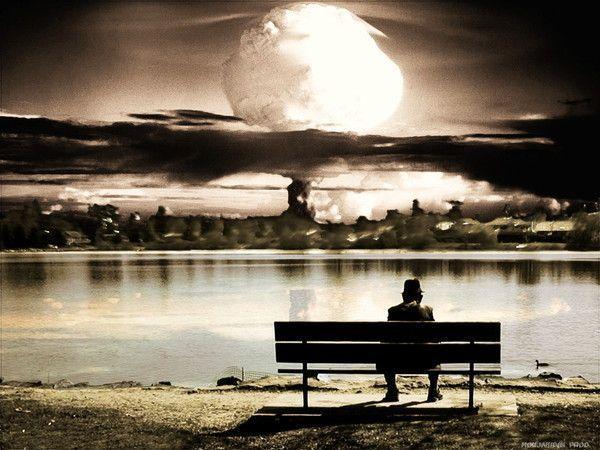 le desespoir est assis sur un banc